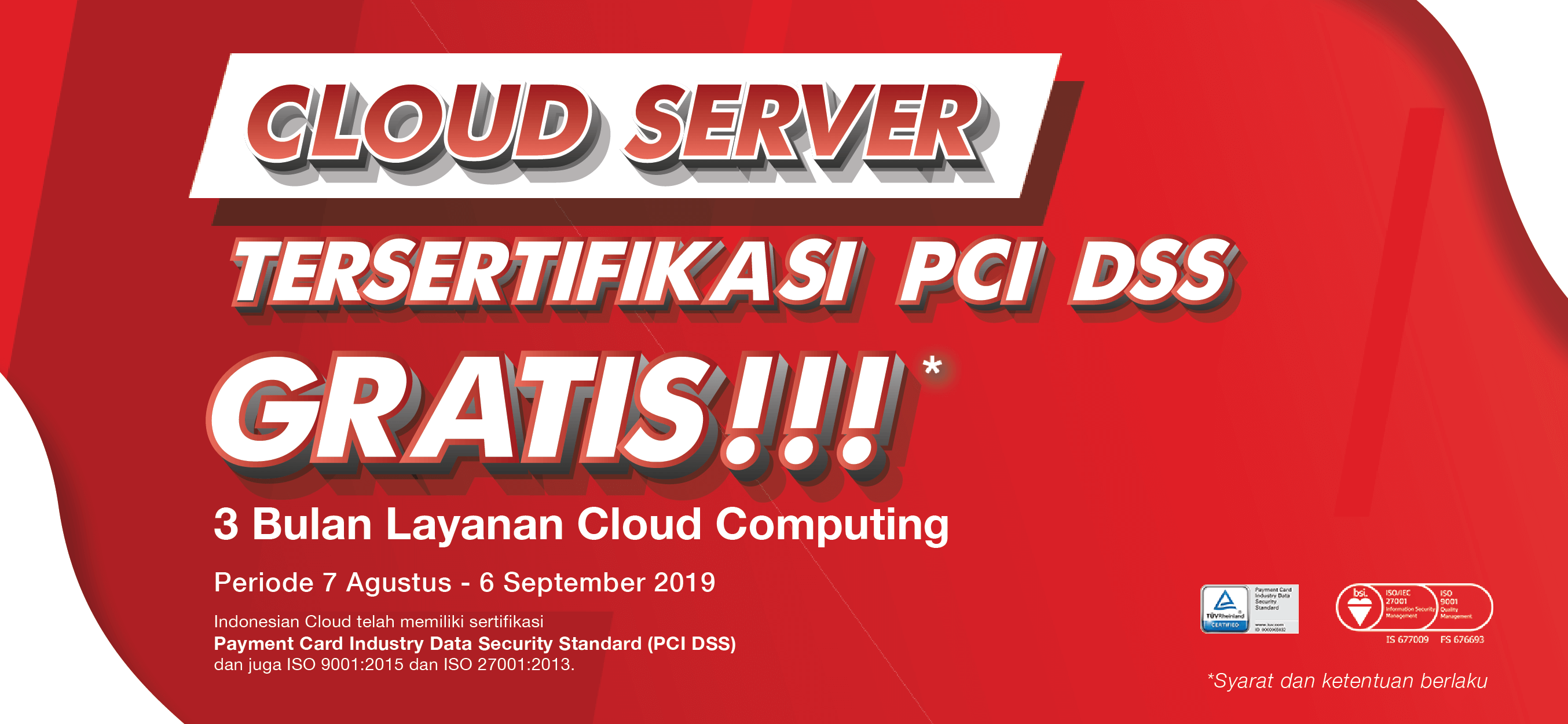 Promo Free Cloud Server Indonesian Cloud