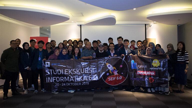 Kunjungan Ekskursi Mahasiswa dan Dosen Informatika Fakultas Ilmu Komputer Universitas Brawijaya 2019