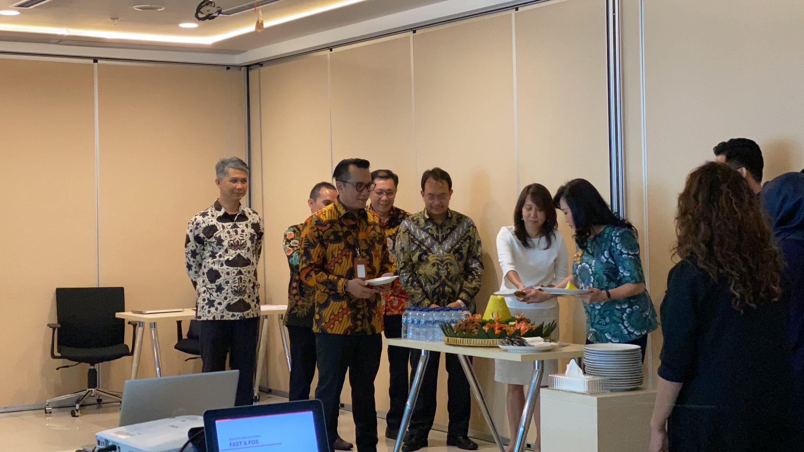 Indonesian Cloud dan CIMB Niaga Auto Finance Melaunching Aplikasi FAST dan FOS