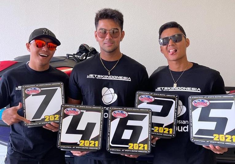 Selamat! Indonesian Cloud Jetski Racing Team Peroleh Runner Up Dunia